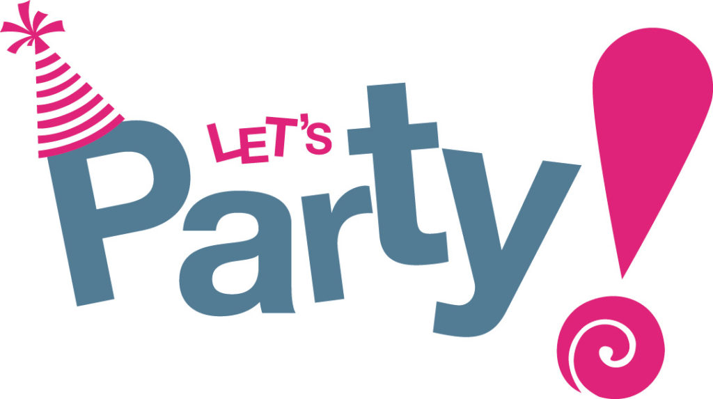 Let's Party Graphic