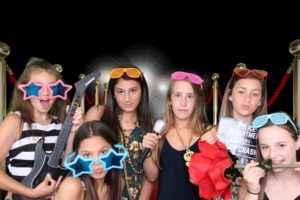 Avery Birthday Party photo booth picture