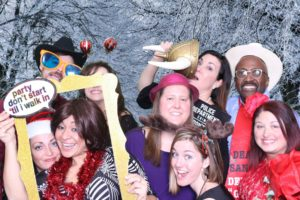 Encompass Medical photo booth pictures