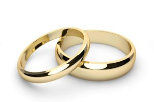 Wedding rings green screen photo booth background