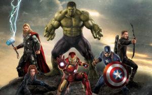 Avengers green screen background