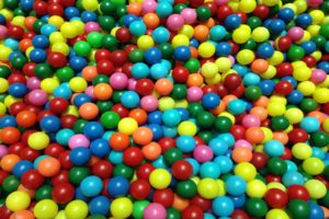 A Colorful Pellet Background